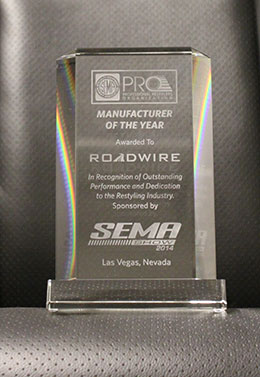 2014 PRO Manufacturer of the Year Award