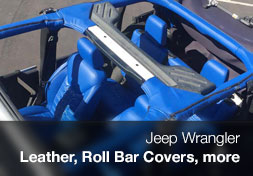 Leather and more for Jeep Wranglers