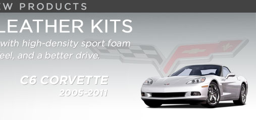 Chevrolet Corvette Sport Foam Leather Kits - NEW!