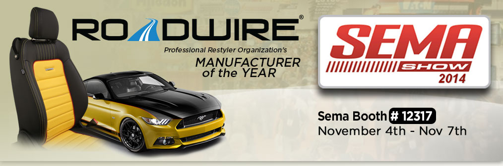 Roadwire at SEMA 2014 - November 4-7, 2014
