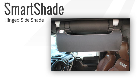 Smart Shade for Jeep Wrangler